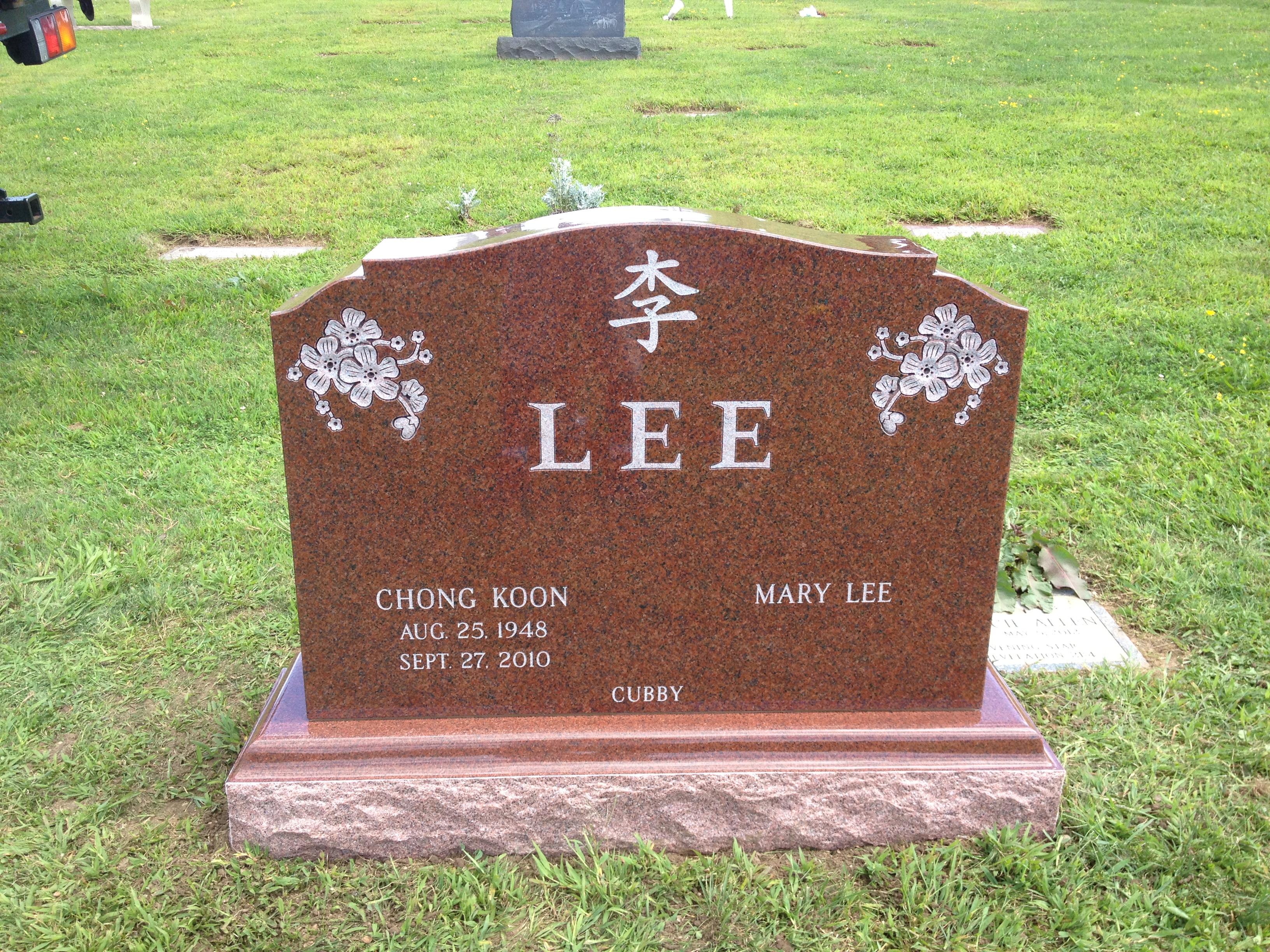 Red Granite Headstones : Monuments d agata granite bronze llc